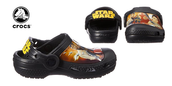 Zuecos unisex Crocs Creative Crocs Star Wars Clog Kids chollo en Amazon