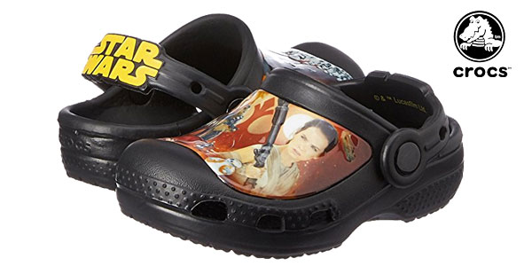 Zuecos unisex Crocs Creative Crocs Star Wars Clog Kids chollazo en Amazon