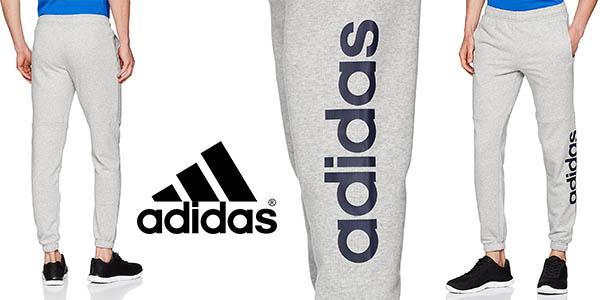 b6c163c4f6f8a Chollazo Pantalón Adidas Essentials Linear Logo para hombre por sólo ...