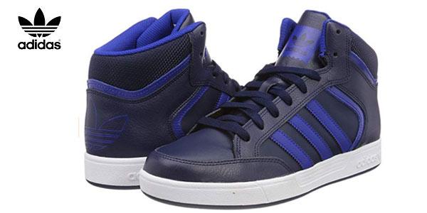 Zapatillas Adidas Varial Mid para hombre en color azul baratas en Amazon