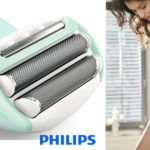 Afeitadora eléctrica sin cable femenina Philips SatinShave BRL160/00 en seco o mojado chollo en Amazon
