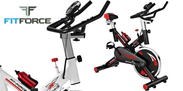 Bicicleta estática Fit-Force X24KG con volante de inercia de 24kg barata en  eBay cdfbb9534e9d7