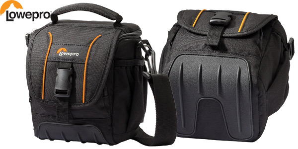 Bolsa Lowepro Adventura SH 120 II para cámara réflex barata en Amazon