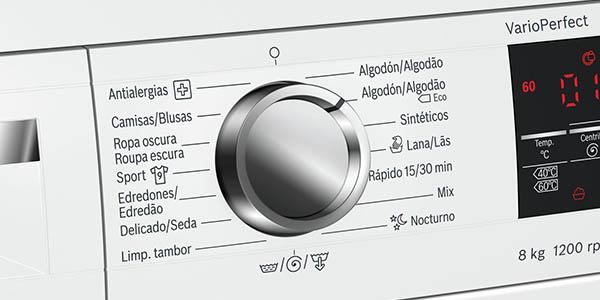 Bosch WUQ24468Es lavadora clase AAA silenciosa chollo