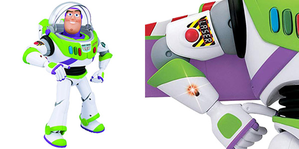Figura Articulada Buzz Lightyear Toy Story con voz chollazo en Amazon