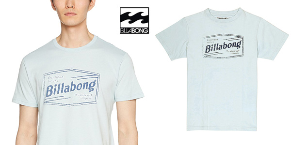 Camiseta Billabong Labrea SS de manga corta para hombre chollo en Amazon
