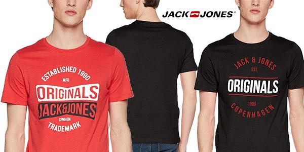 Camiseta JACK & JONES Jormusai de manga corta en varios colores para hombre barata en Amazon