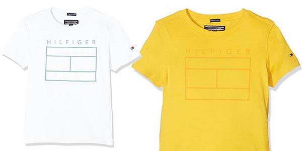 camiseta para niñ@s de calidad Tommy Hilfiger en oferta