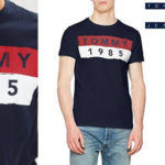Camiseta Tommy Jeans 1985 de manga corta para hombre barata