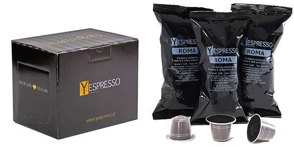 cápsulas compatibles de café Nespresso y Dolce gusto de sabor intenso chollo