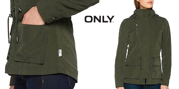 Parka ligera Only Starlight Spring Jacket para mujer chollazo en Amazon