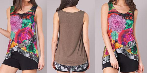 Chollo Camiseta sin mangas Desigual Staicy para mujer