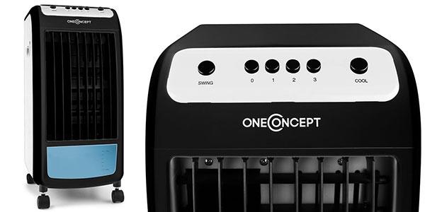 Chollo climatizador evaporativo 3 en 1 OneConcept Carribean Blue