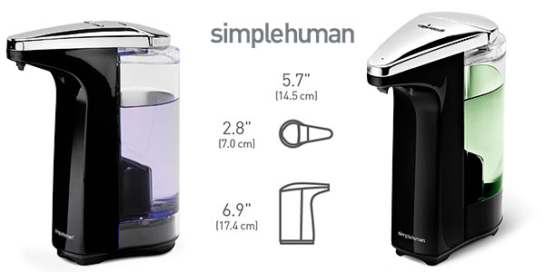 Chollo Dosificador de jabón Simplehuman de 237 ml con sensor