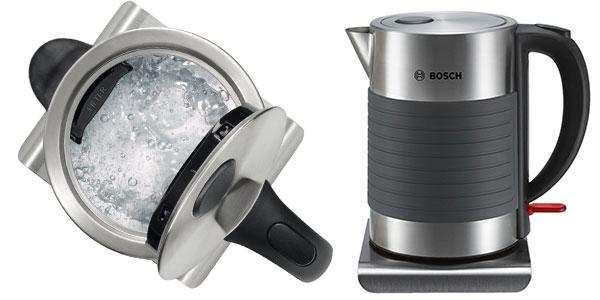 Chollo Hervidor de agua Bosch TWK7S05 de acero inoxidable y 2200 W