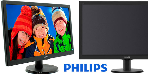 Monitor Philips 273V5LHAB con resolución Full HD barato