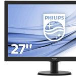 Chollo Monitor Philips 273V5LHAB con resolución Full HD