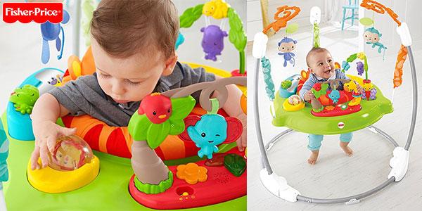Chollo Saltador Animalitos de la Selva Fisher-Price con luz, música y sonido para bebés