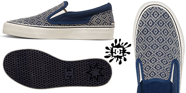 Chollo Zapatillas DC Shoes Trase Slip-On Printed para mujer