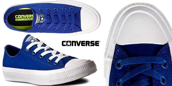 converse azul 37