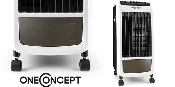 Climatizador evaporativo 3 en 1 OneConcept Carribean Blue barato