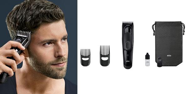 Cortapelos recargable Braun Series 5 en oferta en Amazon