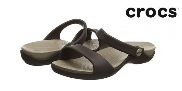 Sandalias Crocs Cleo V para mujer baratas en Amazon