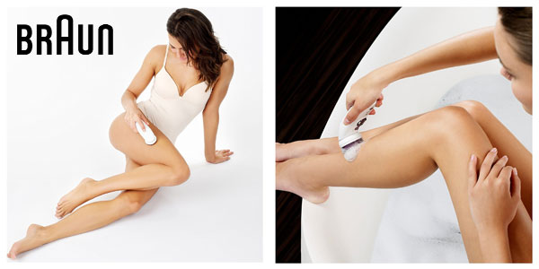 Depiladora eléctrica Braun Silk-épil 9 SkinSpa 9-961V Wet & dry Beauty Set chollazo en Amazon