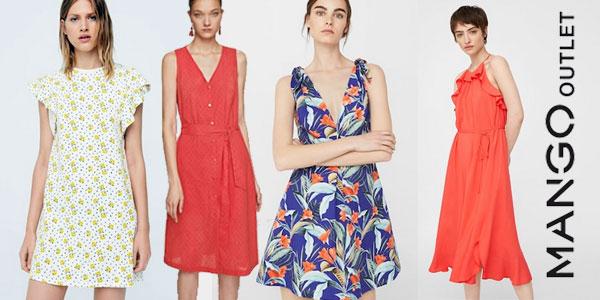 Hasta -50% de descuento en vestidos en Mango Outlet