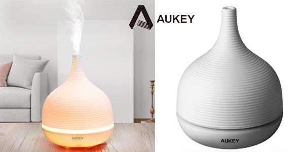 Difusor ultrasónico de aceites esenciales Aukey barato en Amazon