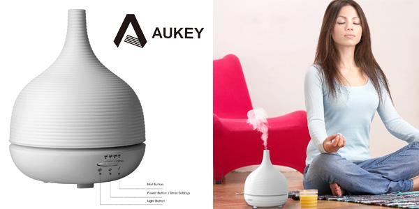 Difusor ultrasónico de aceites esenciales Aukey chollo en Amazon