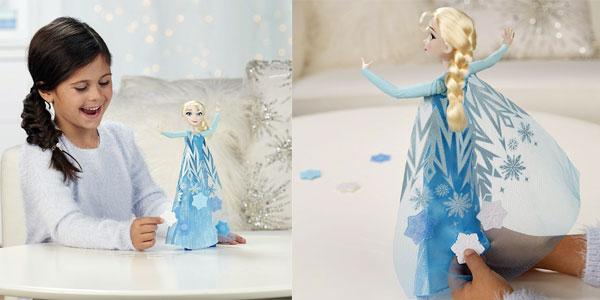 Disney Frozen - Muñeca Elsa copos mágicos de Hasbro chollo en Amazon