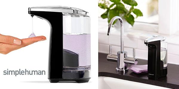 Dosificador de jabón Simplehuman de 237 ml con sensor barato