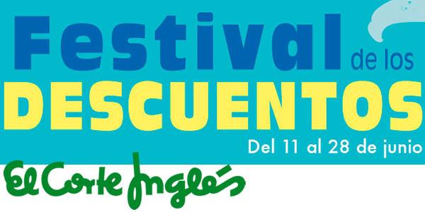 El Corte Inglés Festival de los descuentos junio 2018