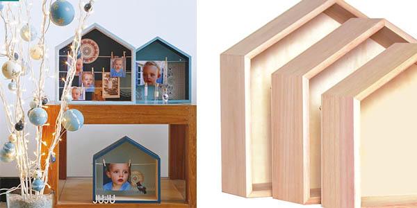 estantes de madera para pintar con forma decorativa ideal para habitaciones infantiles oferta