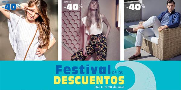 Festival de los Descuentos en moda, hogar, ropa de baño y accesorios en El Corte Inglés