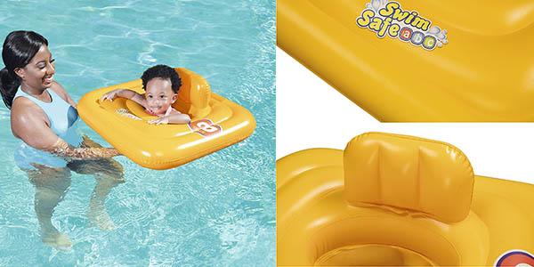 flotador Bestway para bebés de hasta 11 kg con genial relación calidad-precio