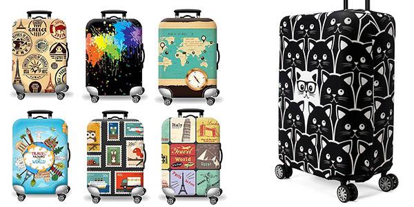 fundas divertidas para maletas baratas