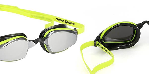 gafas de buceo Michael Phelps Aqua Sphere K180 lentes de espejo chollo