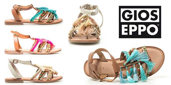 Gioseppo Nambi sandalias para mujer planas y baratas
