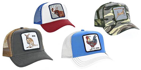 gorras unisex Goorin Bros de diseños variados en oferta