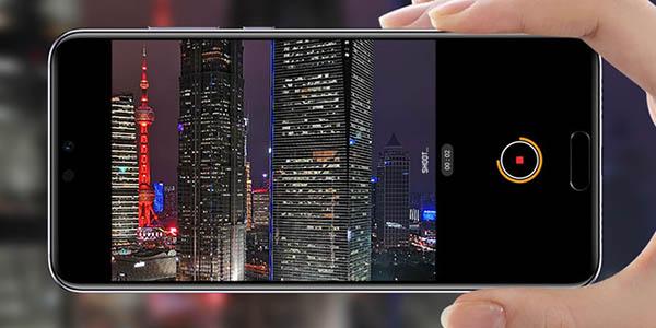 Huawei P20 en color negro o azul