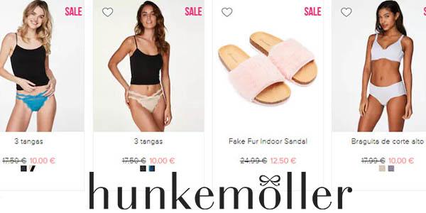 Hunkemöller rebajas en ropa interior y baño para mujer