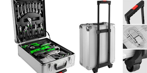 Juego de 399 Heramientas en maletín trolley con ruedas de aluminio chollo en eBay