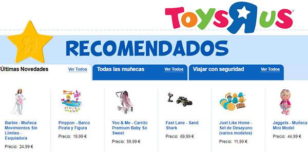 juegos y juguetes infantiles ToysRus sin IVA promoción