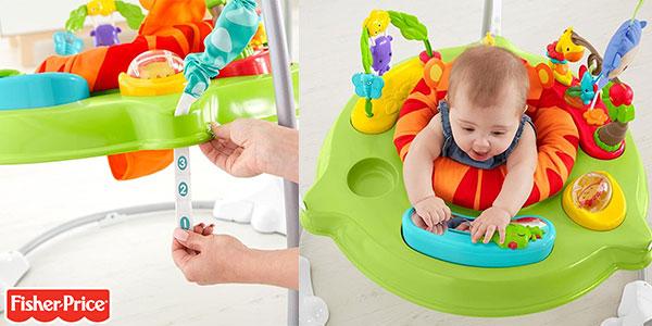 Juguete Saltador Animalitos de la Selva Fisher-Price con luz, música y sonido para bebés barato