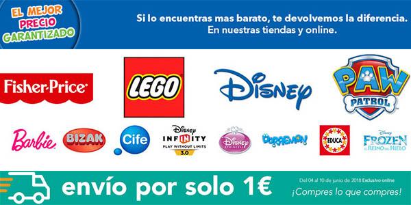 juguetes en oferta sin IVA ToysRus