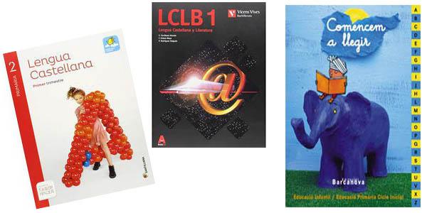 libros de texto escolares en promoción con cupón descuento en Carrefour
