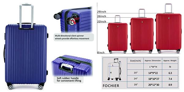 maletas para vacaciones familiares Fochier oferta