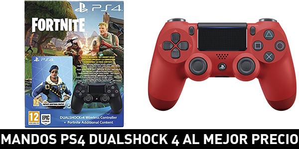Selección de mandos Dualshock 4 V2 para PS4 al mejor precio